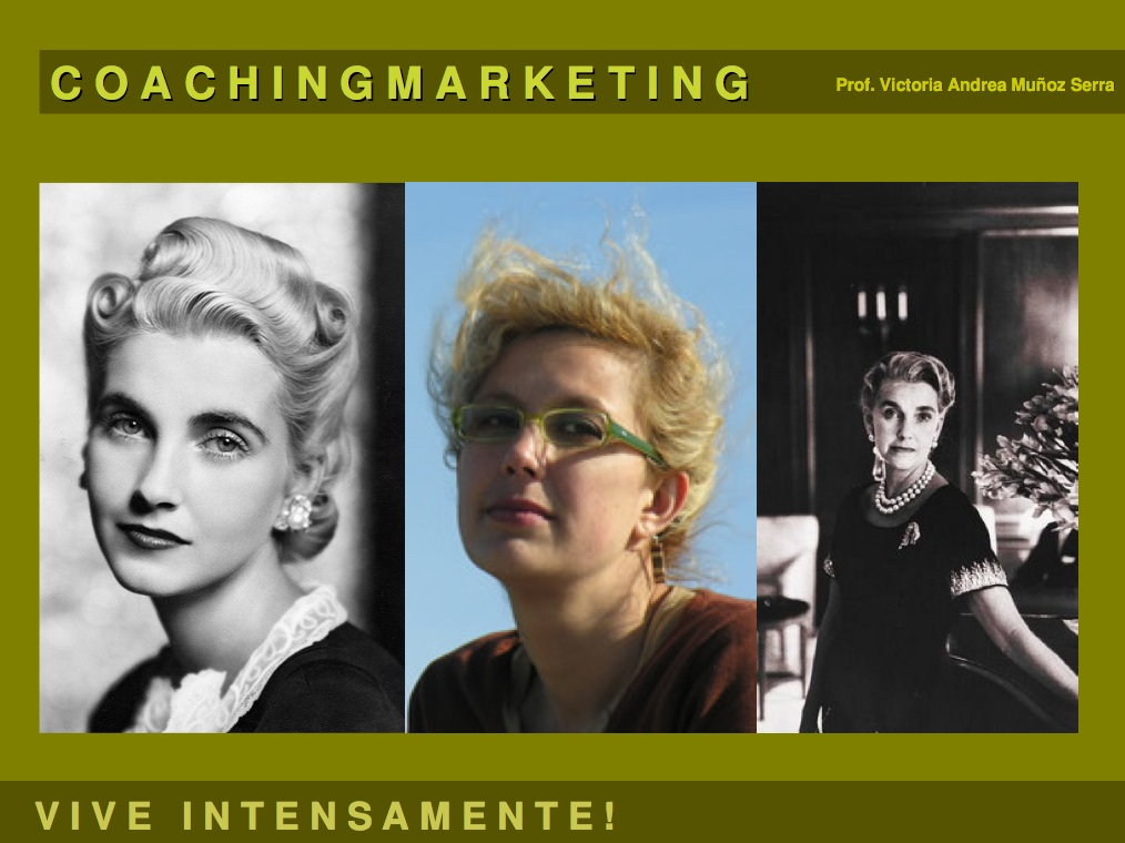 Power Point Coachingmarketing - Prof. Victoria Andrea Muñoz Serra